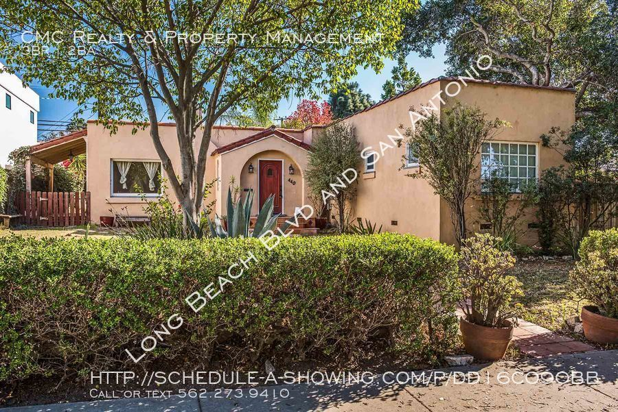 Charming 3 bed/2 bath home in Bixby Knolls