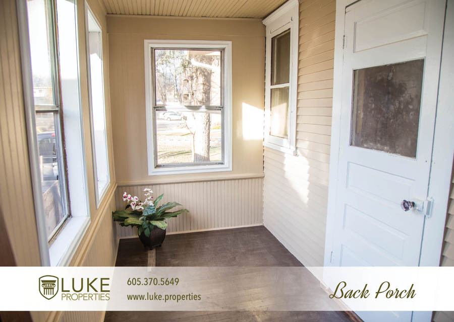 Luke properties 801 s main ave sioux falls sd 57104 house for rent back porch