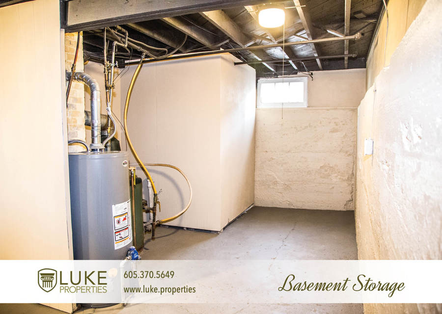 Luke properties 801 s main ave sioux falls sd 57104 house for rent basement storage