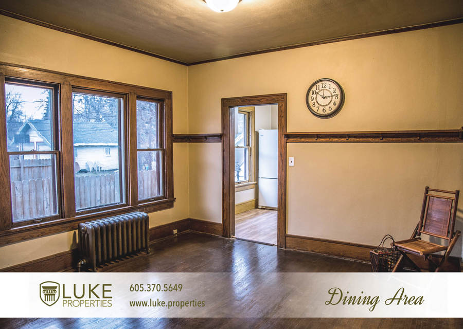 Luke properties 801 s main ave sioux falls sd 57104 house for rent dining area
