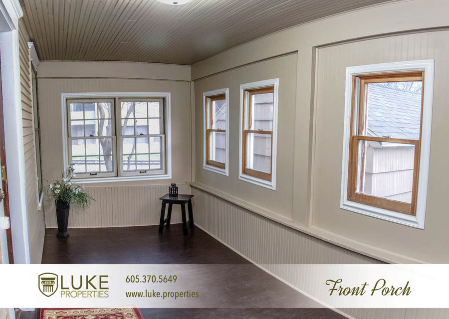 Luke properties 801 s main ave sioux falls sd 57104 house for rent front porch