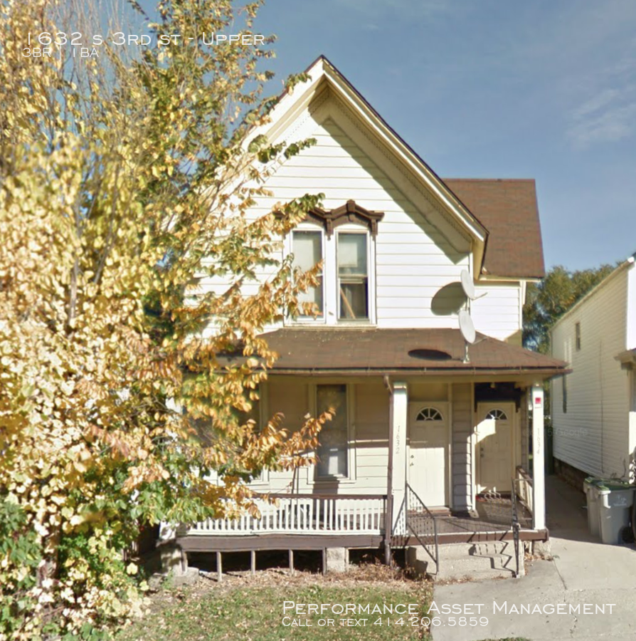 1632 s 3rd st Great 2bd upper unit in The Fifth Ward!