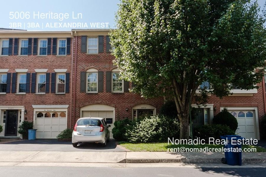 Townhouse for Rent in Alexandria