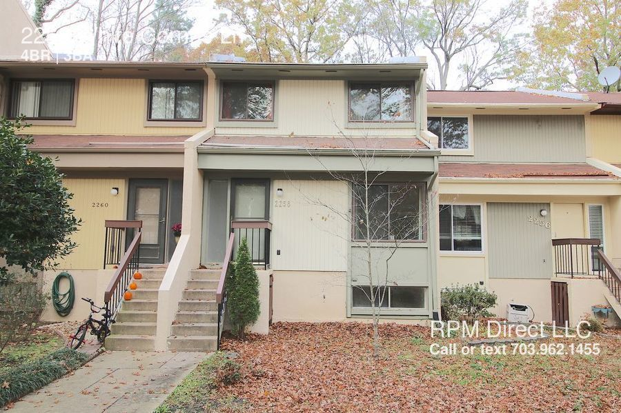 Townhouse for Rent in Reston