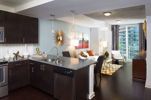 Skydallas_1bed_kitchenliving-resize