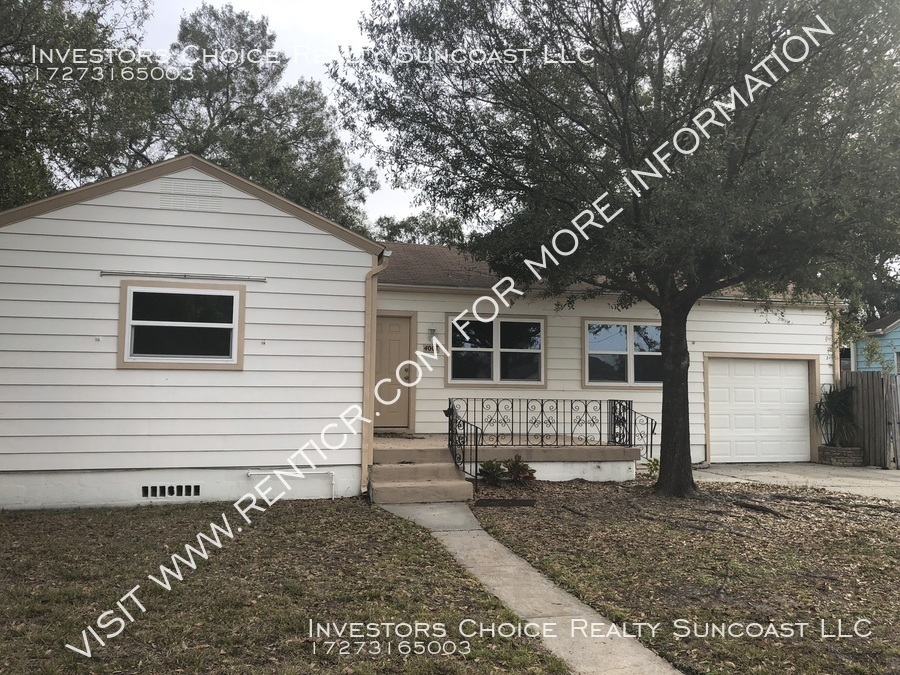 4007 N Myrtle Ave 3BR/2BA Home in Tampa $1600