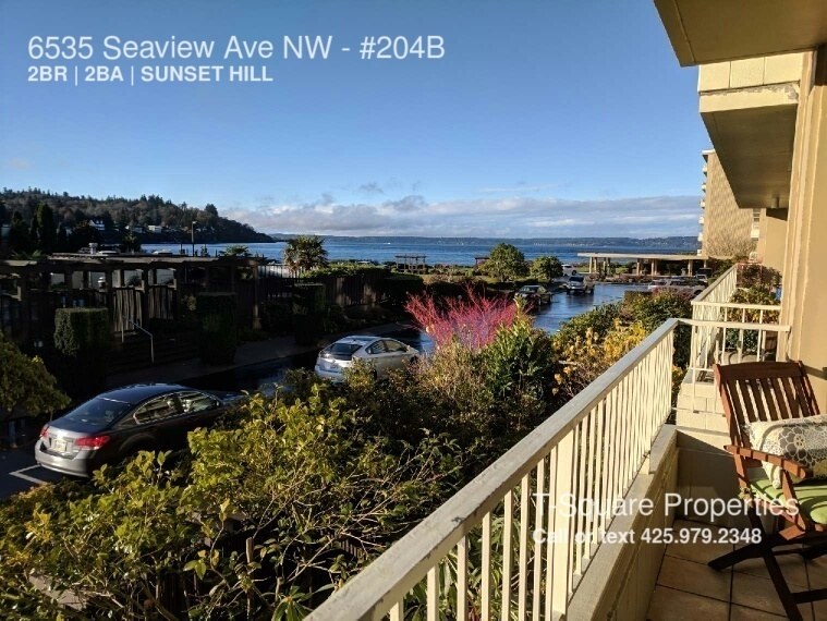 6535 Seaview Ave NW Available Now! CONDO WITH A VIEW! LOTS OF AMENITIES!