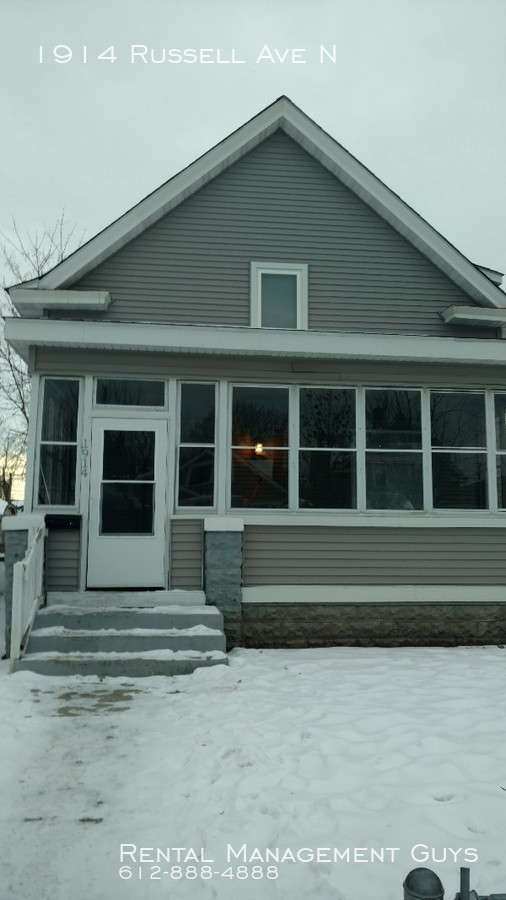1914 Russell Ave N Updated 3 Bedroom in Quiet Area