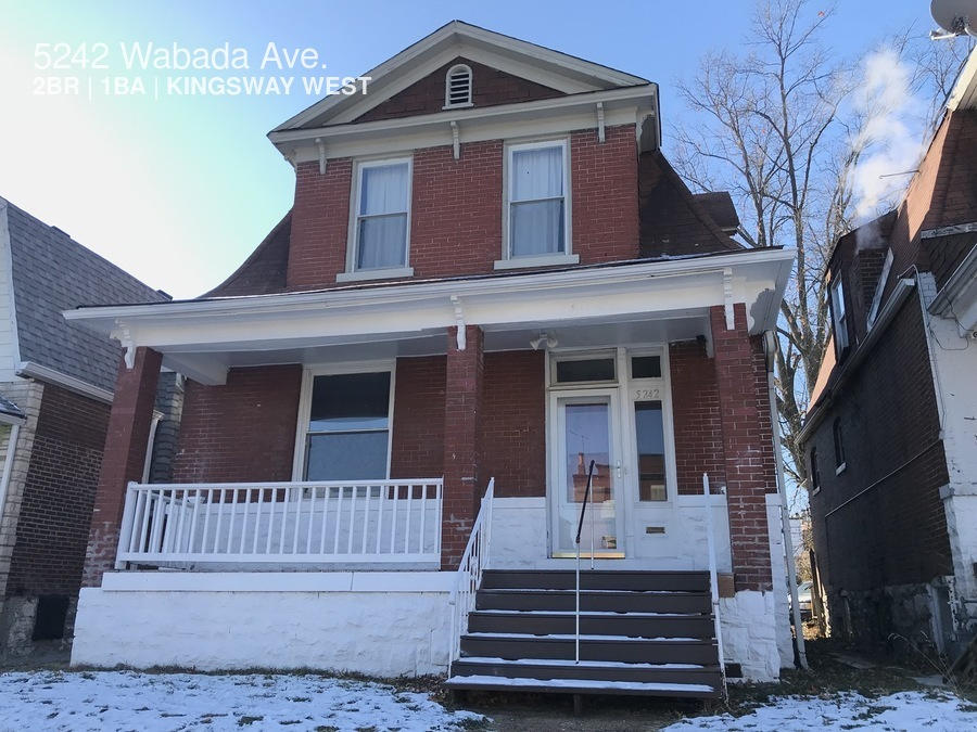 5242 Wabada Ave. Large and Spacious Northside 2bd/1ba Home