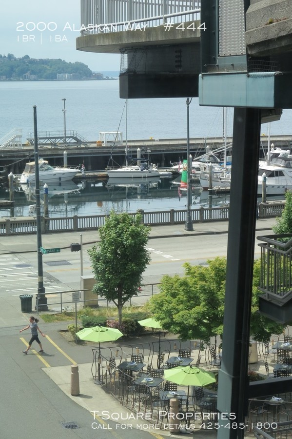 2000 Alaskan Way Remarkable Condo with Great Water Front Views! Right in Fabulous Seattle Location!