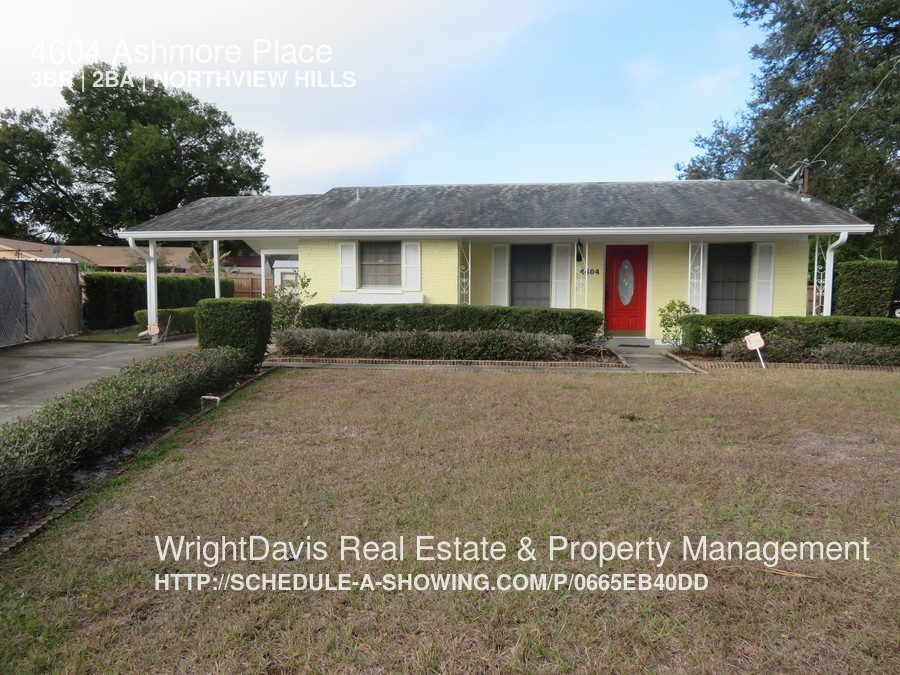 4604 Ashmore Place Adorable 3 bed/2 bath on Cul-de-sac in East Tampa.