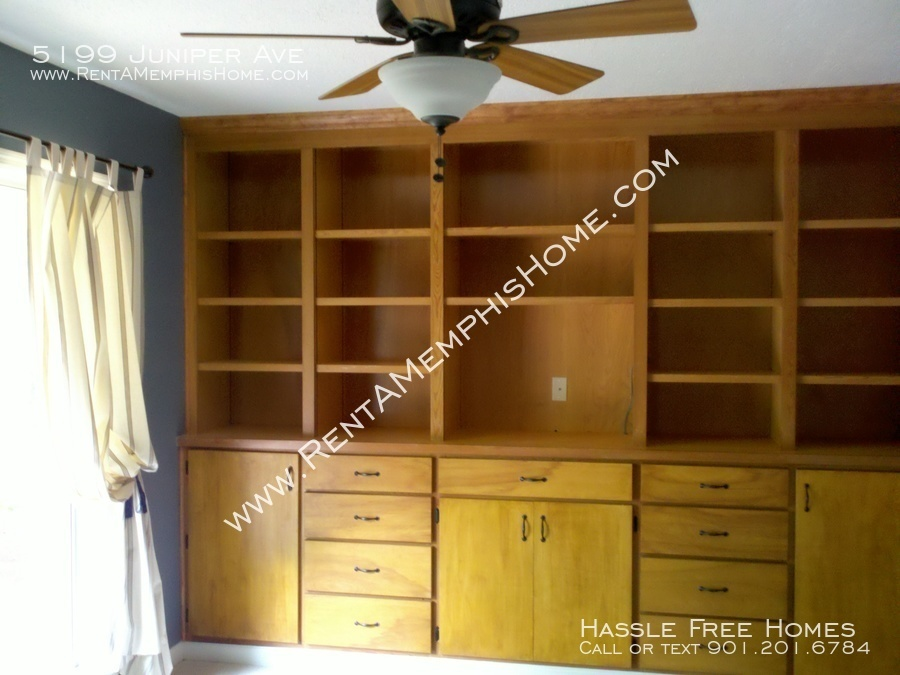 5199 juniper   bedroom bookcase