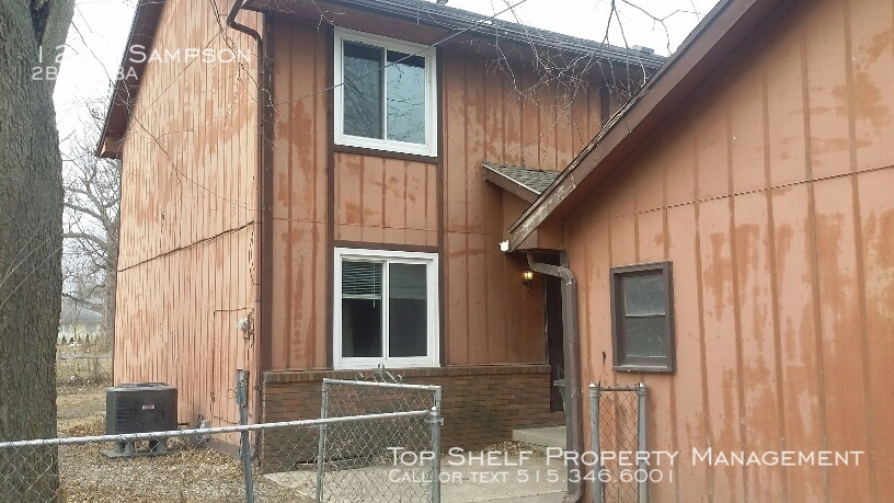 Townhouse for Rent in Des Moines