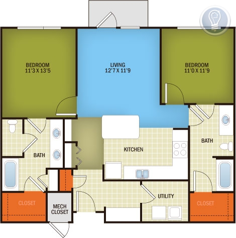 MODERN SMALL 2/2 GOOD ROOMMATE PLAN IN CENTRAL AUSTIN!!! - ---- SCHEDULE A SHOWING ONLINE AT: http://showmojo