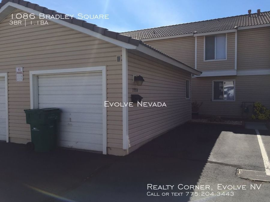 Townhouse for Rent in Sparks
