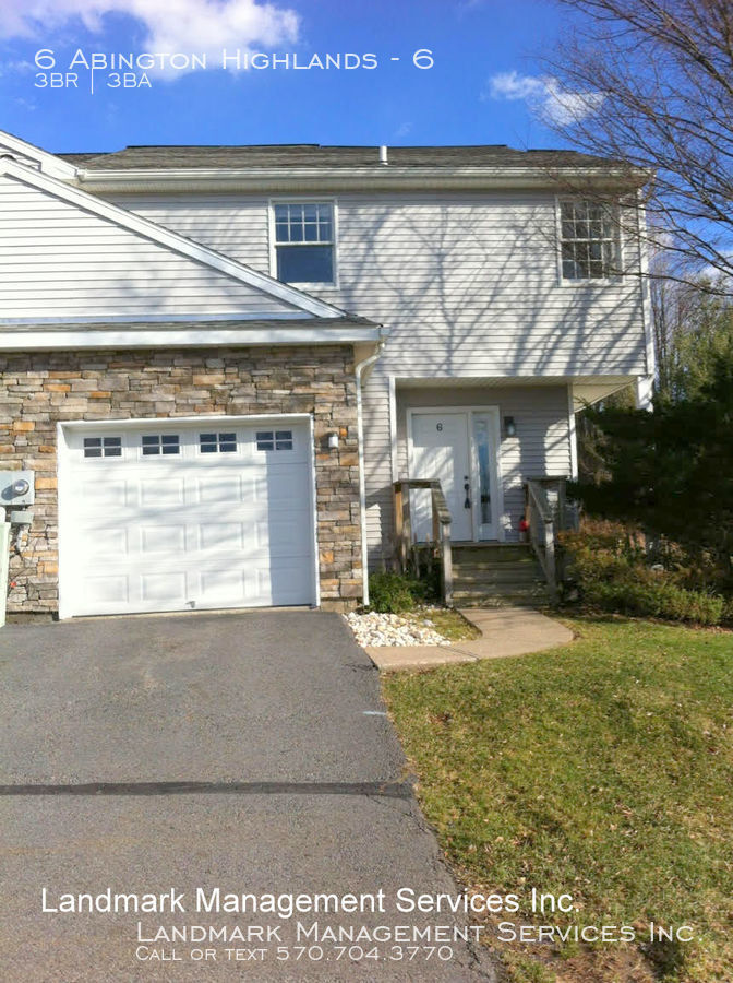 Townhouse for Rent in Clarks Summit