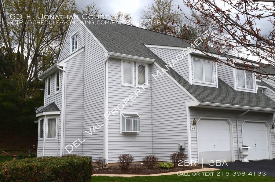 Townhouse for Rent in Kennett Square