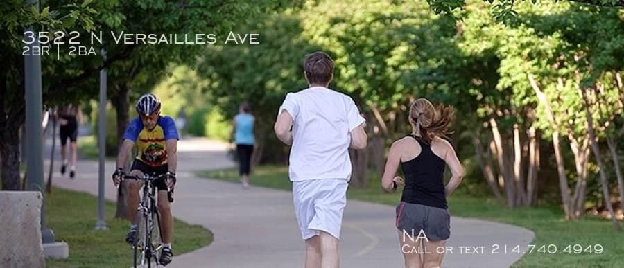 Katy trail runners