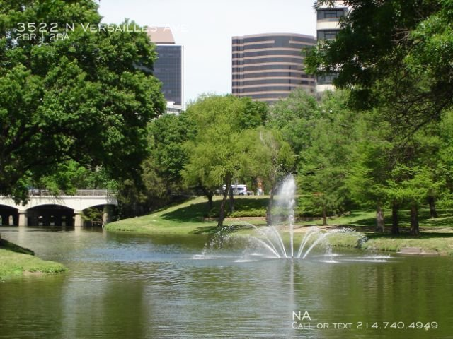 Turtle creek fountain
