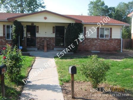 Colorado Springs Houses For Rent In Colorado Springs Homes