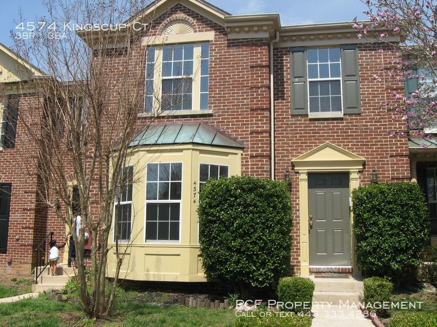 Townhouse for Rent in Ellicott City