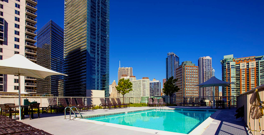 Shoreham at lakeshore east    featured pool deck image
