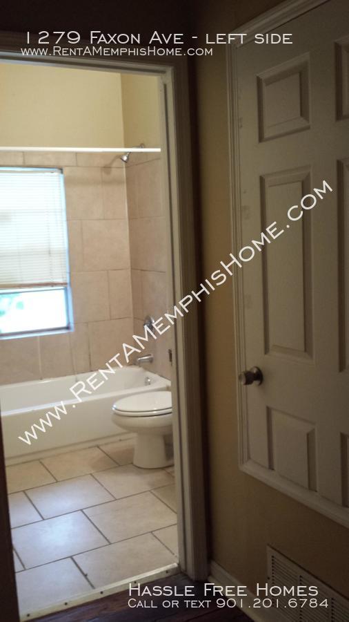 1279 faxon   hall to bathroom