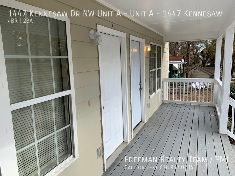 1447 Kennesaw Dr NW Unit A - Unit A - 1447 Kennesaw, Atlanta, GA
