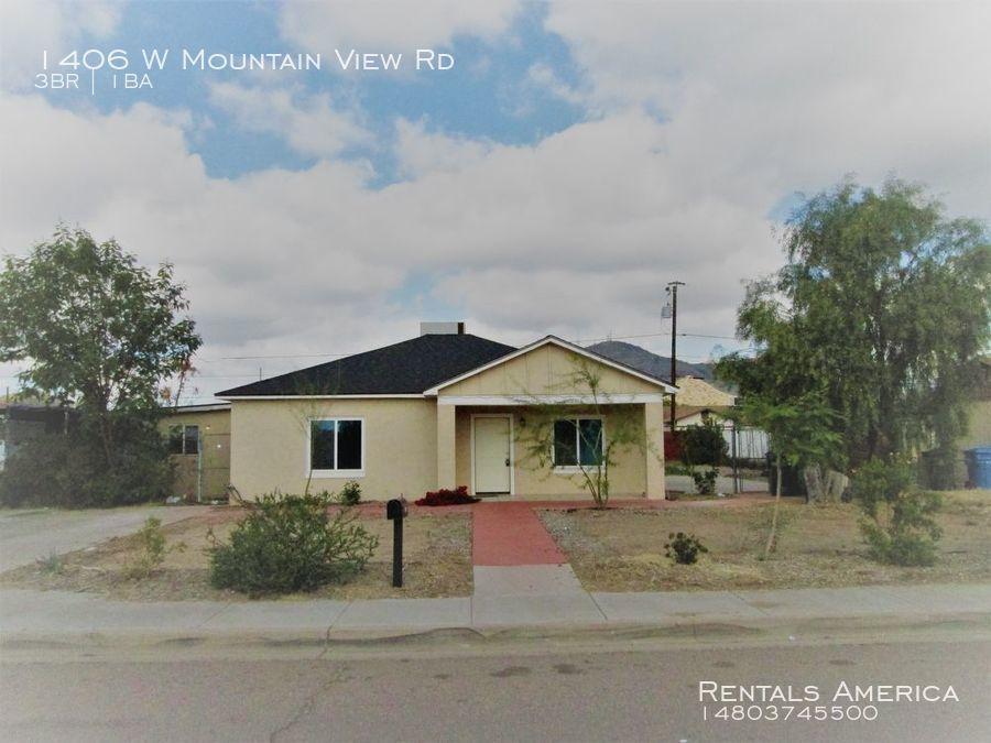 1406 W Mountain View Rd Phoenix Az 85021 3041 Rentals