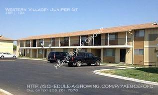 $595 per month , Western Village- Juniper St,