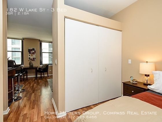 Century tower apartments for rent in the loop   large closet space and natural light throughout