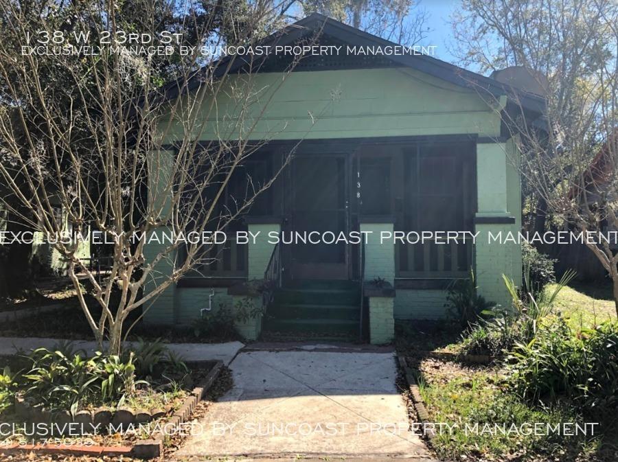 138 W 23rd St Jacksonville Fl 32206 Suncoast Property