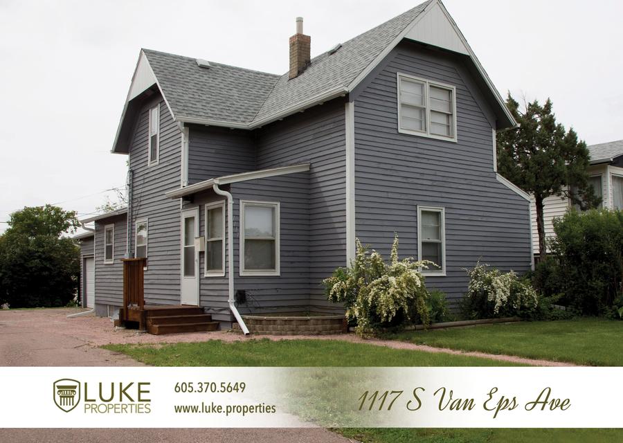 Luke properties 1117 s van eps sioux falls sd 57105 house for rent