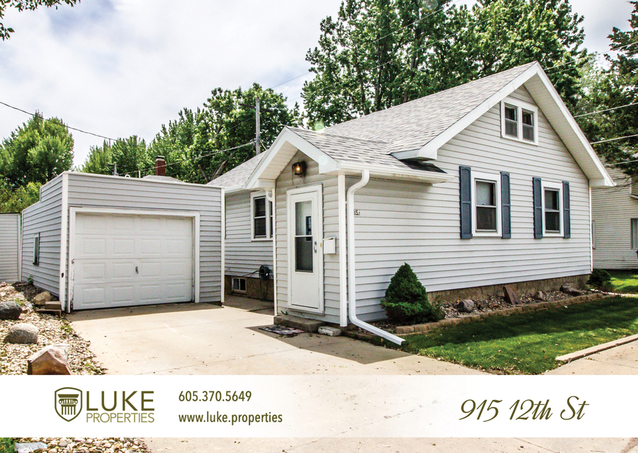 Luke properties 915 w 12th st sioux falls sd 57104 house for rent