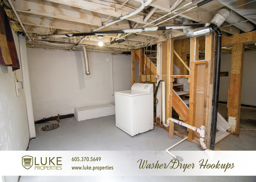 Luke properties 915 w 12th st sioux falls sd 57104 house for rent12