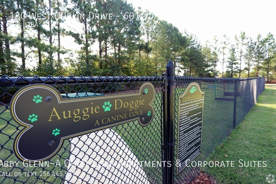 24 our dog park named after the property mascot%21