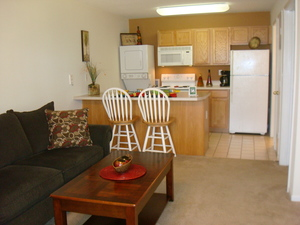 4 kitchen open to living room