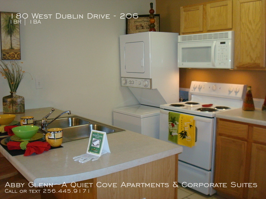 5a stackable washer dryer in unit