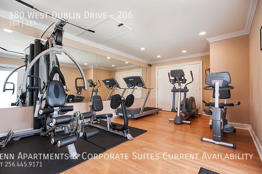 23 nice fitness center w life fitness equipment