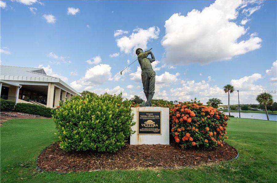 Ventura_golf_statue