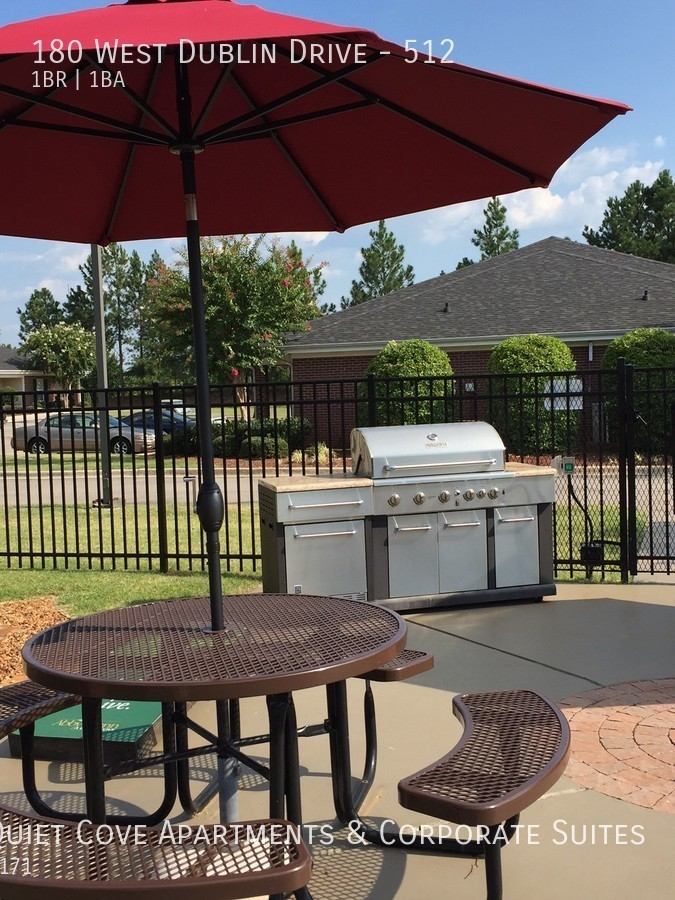 17 grilling area features charcoal   gas grills