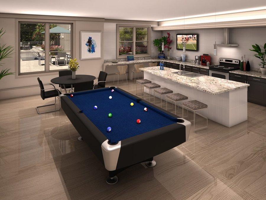 Game room luxury apartments in houston