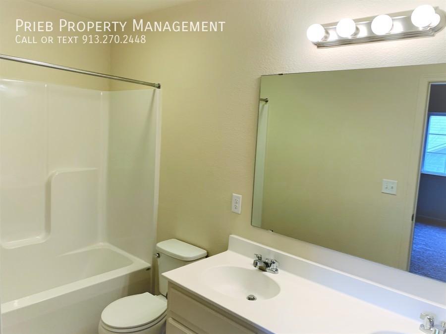 Secondary bedrooms bathroom