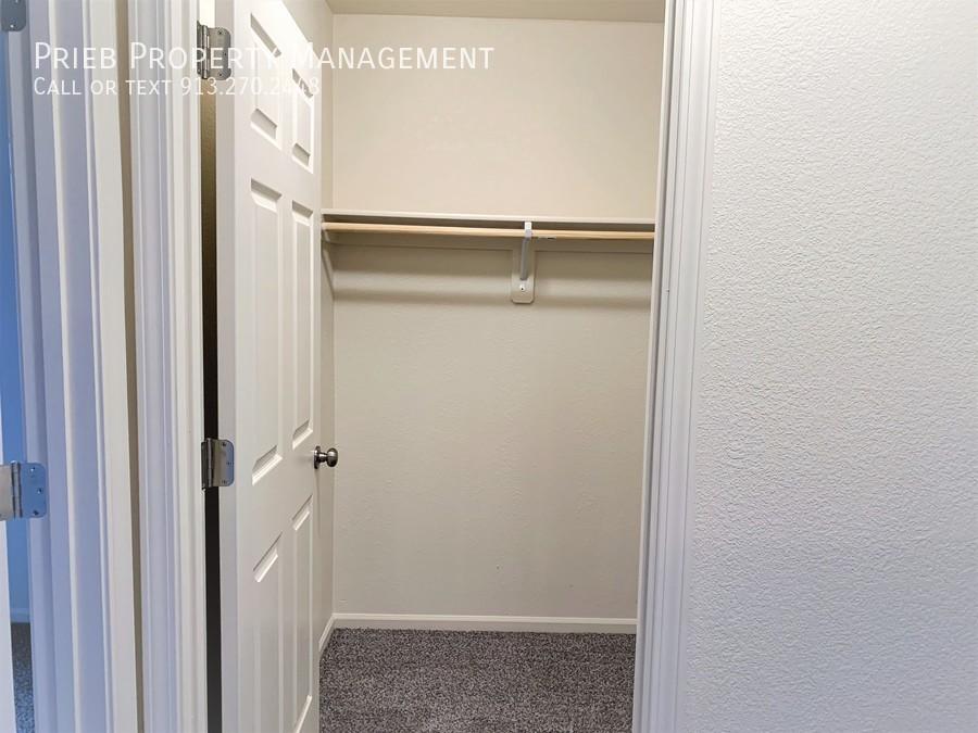 Secondary closet