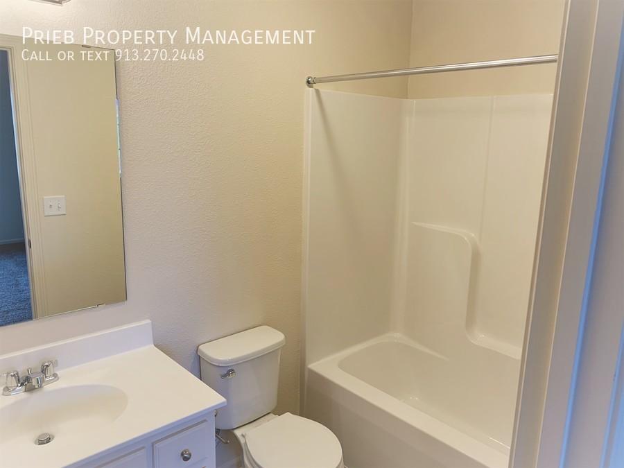 Third bedroom bathroom