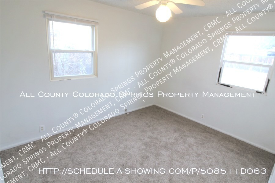 Small 1 level home for rent near fort carson military base and norad at cheyenne mountain bedroom1