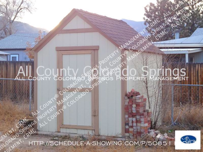Small 1 level home for rent near fort carson military base and norad at cheyenne mountain shed