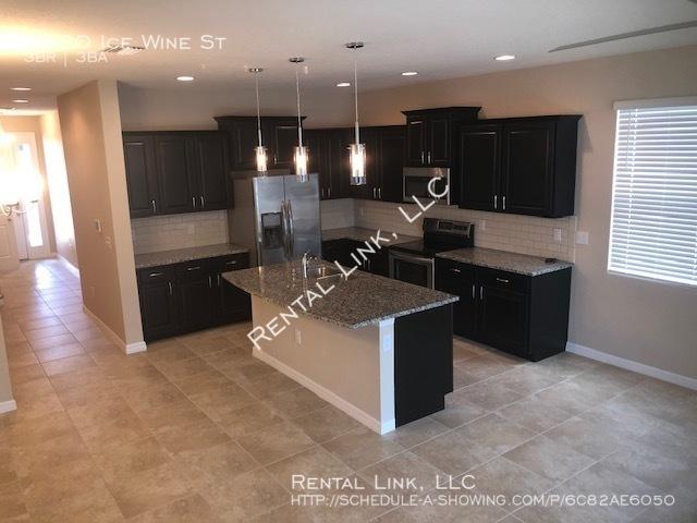 Kitchen living hall