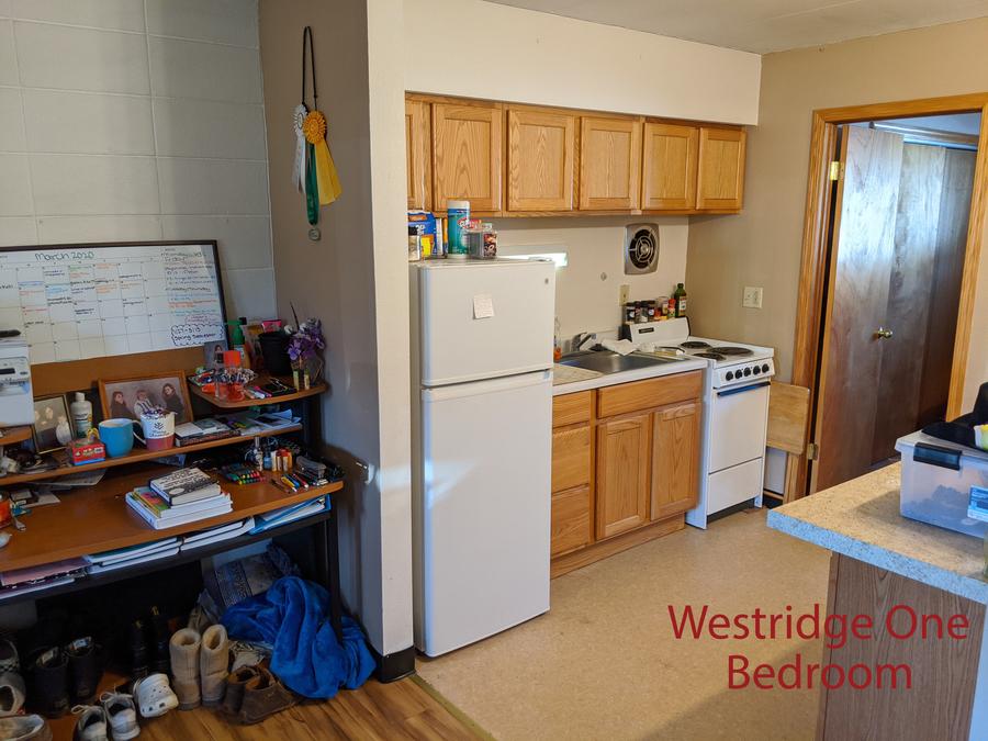 Wr 1 bdr kitchen