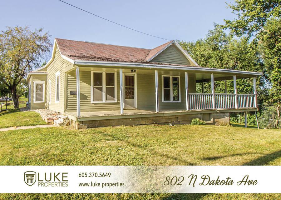 Luke properties 802 n dakota ave sioux falls sd house for rent